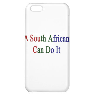 A South African Can Do It Cover For iPhone 5C
