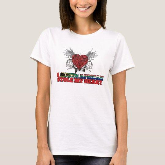 A South African Stole my Heart T-Shirt