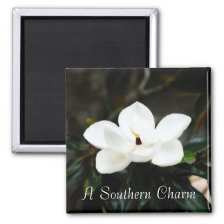 A Southern Charm Magnolia flower magnet