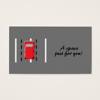 A space just for you! business card