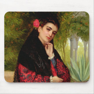 A Spanish Beauty, 1872 (oil on canvas) Mouse Mat