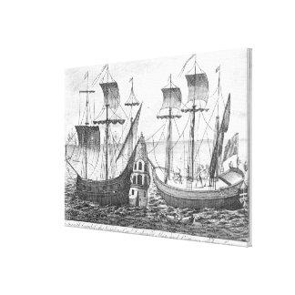 A Spanish 'Guarda Costa' Canvas Print