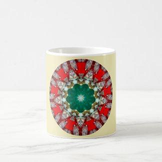 A Sparkling Christmas Fractal Coffee Mug