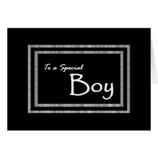 A Special Boy - Page Boy Wedding Invitation Greeting Card