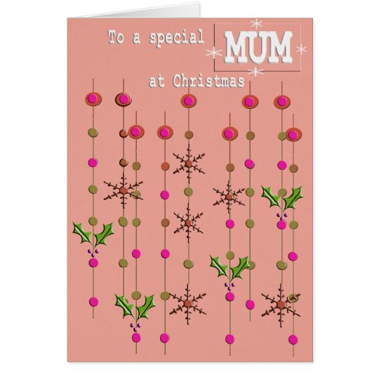 A special person MUM CHRISTMAS Card