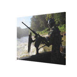 A Special Warfare Combatant-craft Crewman Canvas Print