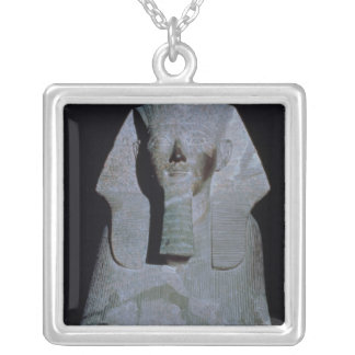 A Sphinx of Queen Hatshepsut Square Pendant Necklace