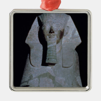 A Sphinx of Queen Hatshepsut Silver-Colored Square Decoration