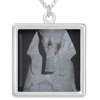 A Sphinx of Queen Hatshepsut Square Pendant Necklace