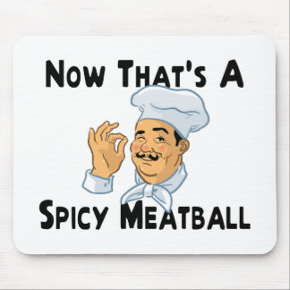 A Spicy Meatball Mouse Mat