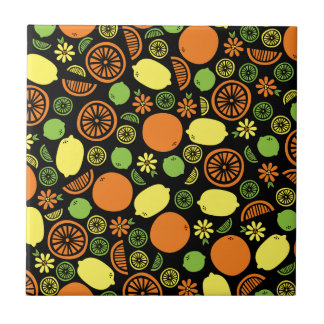 A Splash of Citrus Tile