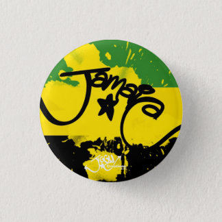 A splash of Jamaica! Small Button Pin