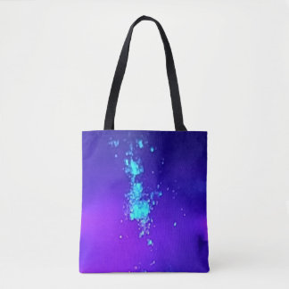 A Splash Of Neon Against Blue Lavender Hombre Tote Bag