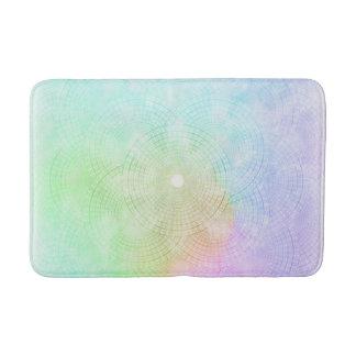 A Splash of Pastel Bath Mat