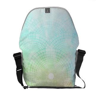 A Splash of Pastel Messenger Bag