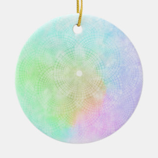 A Splash of Pastel Ornament