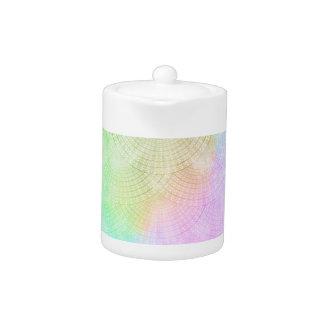 A Splash of Pastel Teapot