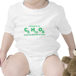 A Spoonful of C6H12O6 Helps the Medicine Go Down Bodysuits