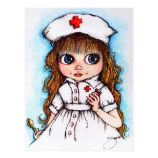 A Spoonful of Sugar...Nurse Postcard