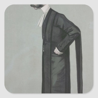 A Sporting Lawyer form Vanity Fair Square Sticker