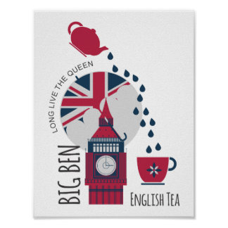 A Spot of English Tea Poster