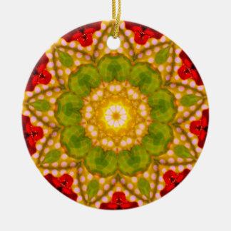 A Spotty Christmas Fractal Christmas Ornament