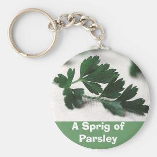 A Sprig of Parsley Key Ring