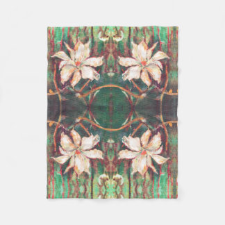 A spring flower by AnnaSofia Fleece Blanket