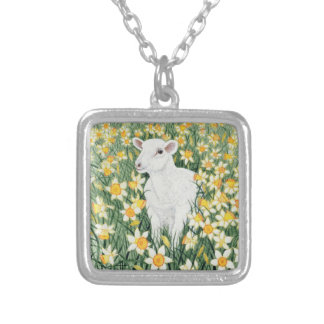 A Spring in the Step Silver Plated Necklace