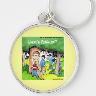 A Spy Is Missing Funny Keychain