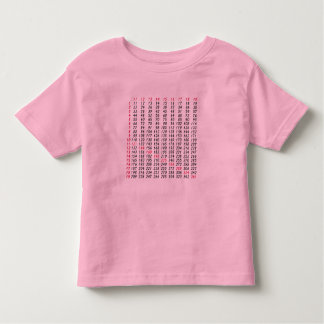 a square root table tshirt