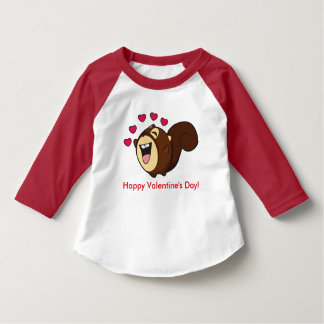 A Squirrel on Valentine's Day T-Shirt