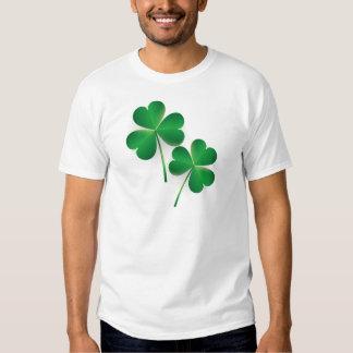 A St. Patrick's Day Green Shamrock Tee Shirt