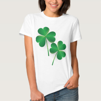 A St. Patrick's Day Green Shamrock Tee Shirts
