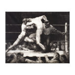 A Stag at Sharkey's - George Bellows Boxing Litho