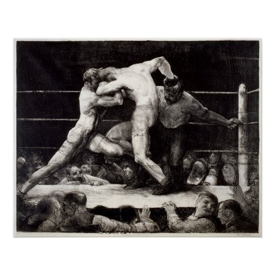 A Stag at Sharkey's - George Bellows Boxing