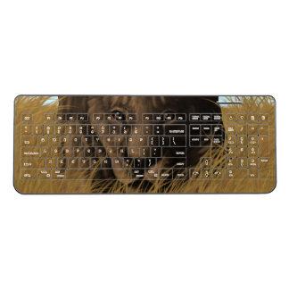 A Stalking Lioness Keyboard