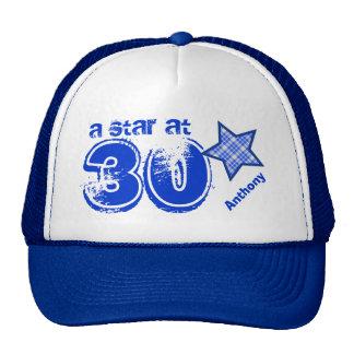 A Star at Thirty Custom Name V25 Cap