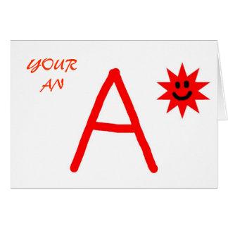 A star card