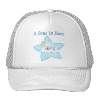 A Star is Born  Baby Boy Mesh Hats