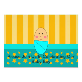 "A Star Is Born Baby Shower Invitation 5"" X 7"" Invitation Card"