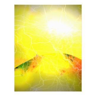 A Star Is Born - Science Fiction Digital Art 21.5 Cm X 28 Cm Flyer