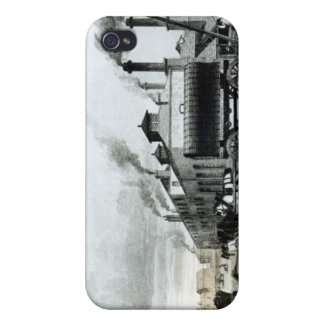 A Steam-Engine Manufactory and Iron Works Covers For iPhone 4