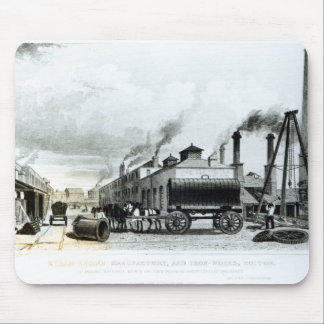A Steam-Engine Manufactory and Iron Works Mouse Mat
