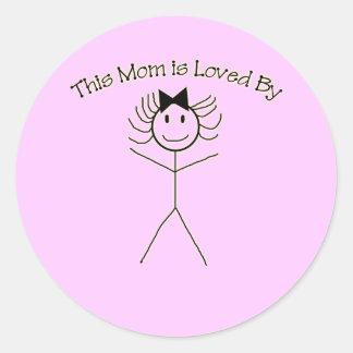 A Sticker for Mom