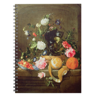 A Still Life in a Stone Niche Notebook
