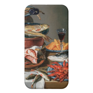 A Still Life of a Fish, Trout and Baby Lobsters, 1 Cover For iPhone 4