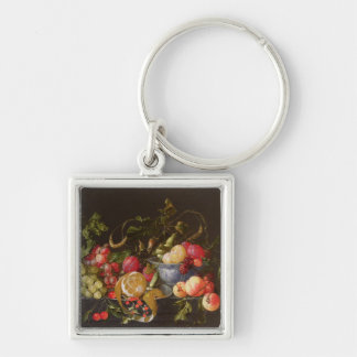 A Still Life of Fruit Key Ring