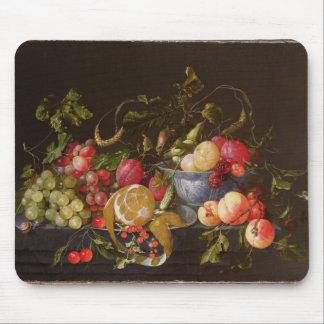 A Still Life of Fruit Mouse Mat