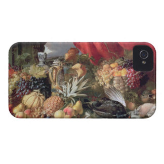 A Still Life of Game Birds and Numerous Fruits iPhone 4 Cases